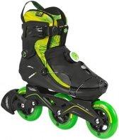15894f20651 Powerslide Inline Skates Vi Cortex 3-wheel Zwart Groen Maat 44
