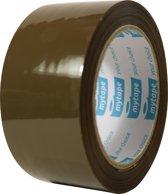 Mytape Bruine Verpakkingstape 6 stuks - 50 MM x 66 M