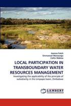 Local Participation in Transboundary Water Resources Management