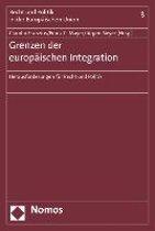 Grenzen Der Europaischen Integration