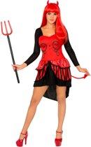 Duivel jurk kostuum voor vrouwen - Volwassenen kostuums