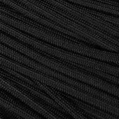 Paracord 550 Black - Type 3 - 5 meter - #14