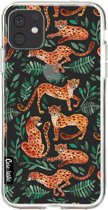 Casetastic Smartphone Hoesje Softcover Apple iPhone 11 - Cheetah Life