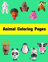Animal Coloring Pages: Coloring Pages for Children ages 2-5 from funny and variety amazing image.