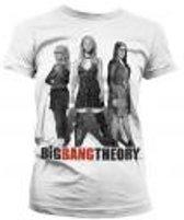 THE BIG BANG - T-Shirt GIRL Girl Power Girly - White (XL)