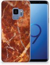 TPU Siliconen Backcase Samsung Galaxy S9 Marmer Bruin