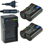 ChiliPower EN-EL15 Nikon Kit - Camera Batterij Set