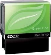 Colop stempel Green Line Printer Printer 40 max. 6 regels voor Nederland formaat. 23 x 59 mm