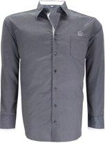Greyes T-shirt Overhemd -  Antraciet -  3XL