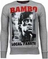 Rambo - Rhinestone Sweater - Maten: