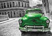 Fotobehang Vintage Car | XXXL - 416cm x 254cm | 130g/m2 Vlies