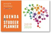 Purple Monkey Agenda en Studeerplanner 2019-2020