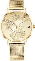 Tommy Hilfiger TH1781921 horloge dames - goud - edelstaal doubl�