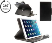 Tablet case met handige 360 graden draaibare Multi-stand, Slimfit hoes, blauw , merk i12Cover