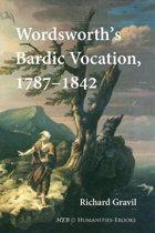 Wordsworth's Bardic Vocation, 1787-1842