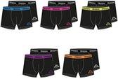 10 Pack Kappa Boxershorts Heren Zwart