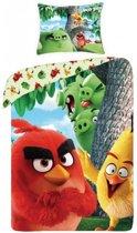 Angry Birds Brutale Varkens Dekbedovertrek - Eenpersoons - 140x200 cm - Multi