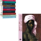 boekenplank zwevend Selfshelf Ceci n'est pas un livre | vrouw roze
