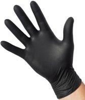 Smokin' Flavours Nitril handschoen poedervrij zwart 100st L