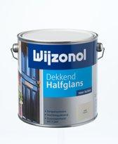 Wijzonol Dekkend Halfglans - 2,5l - RAL 9001