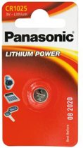 1 Panasonic CR1025 Lithium Power