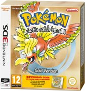 Pokemon Gold - 2DS + 3DS