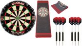 Winmau Blade 5 - Dartmat Antracite - 2 sets winmau dartpijlen - dartbord - dartmat - dartpijlen