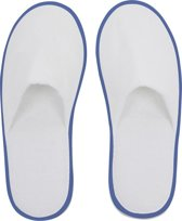 Small Foot Huis- Of Hotelslippers Wit / Blauw One Size