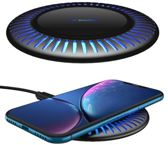 Temium Draadloze Qi Snellader- Draadloze Oplader voor Iphone- Wireless Charger Samsung- Wireless Fast Charger- Oplaadstation- Draadloos Laden- Apple iPhone 11/ Pro/ Max / X / XS / XR / XS / 8 / Samsung Galaxy / S8 / S9 / S10 / Edge / Note / Huawai