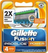 Gillette Fusion ProGlide Power - 4 stuks - Scheermesjes