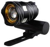Ultieme Led Fietslamp - Oplaadbaar via USB - Super fel - 3 standen & zoom
