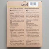 Joeni® – Schilderen op nummer – 40x50cm – Geschenkverpakking – Abstracte Leeuw – Los Canvasdoek