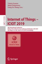 Internet of Things – ICIOT 2019