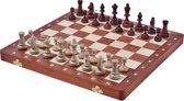 Sunrise tournament 3- Luxe schaakspel /schaakbord (Hout)