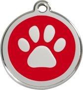 Red Dingo Hondenpenning 30 mm