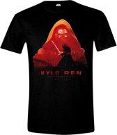 STAR WARS VII - KYLO REN COVER MEN BLACK T-SHIRT SIZE L