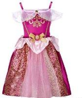 2254c9c98695bd Roze prinsessenjurk verkleedjurk - labelmaat