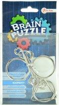 Toi-toys Brain Puzzle Hersenkraker Expert Zilver/blauw