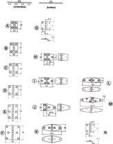 Talamex Handgepolijste scharnieren 55,5X 51mm N