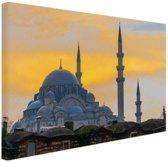 Istanbul Midden-Oosten Canvas 30x20 cm - Foto print op Canvas schilderij (Wanddecoratie)