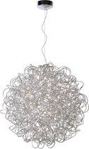 Lucide Galileo Hanglamp - Ø80cm - Chroom