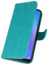 Huawei P Smart Plus Groen | bookstyle / book case/ wallet case Wallet Cases Hoes  | WN™