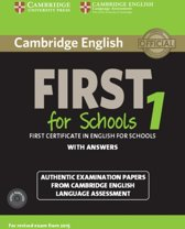 Cambridge English First for Schools for Revised Exam from 2015 1 student's book + answers + audio-cd's