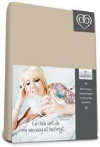Bed-fashion jersey hoeslaken Zand - 180 x 210 cm - Zand