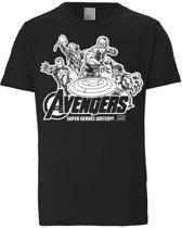 Logoshirt T-Shirt Avengers - Marvel - Heroes United