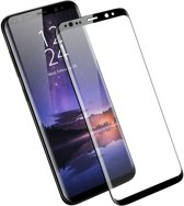 Screenprotector Geschikt voor Samsung Galaxy S9 - Edged (3D) Tempered Glass Screenprotector Zwart 9H