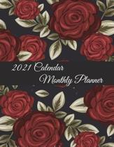 2021 Calendar Monthly Planner