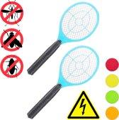 relaxdays 2x elektrische vliegenmepper - tegen muggen   vliegen - vliegenmepper elektrisch