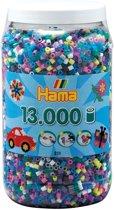 Hama - Strijkkralen in ton - mix - 13000 stuks