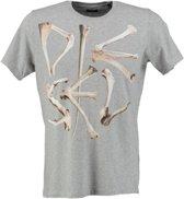Diesel grijs t-shirt - Maat S